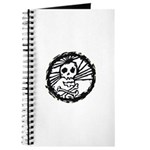 Skull Wheel - Abstract Journal