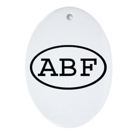 ABF Oval Oval Ornament