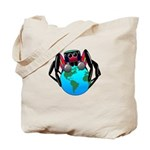earth spider Tote Bag