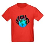 earth spider Kids Dark T-Shirt