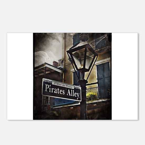 Pirates Alley Postcards (Package of 8)