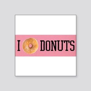 I donut DONUTS Sticker