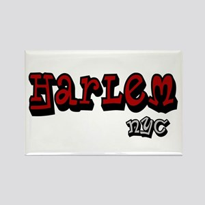 """CLICK HERE for Harlem NYC lo Rectangle Magnet"