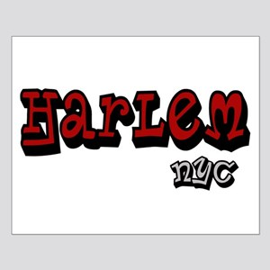 """""""CLICK HERE for Harlem NYC lo Small Poster"""