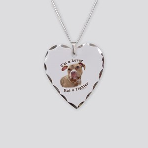 Im A Lover Necklace Heart Charm