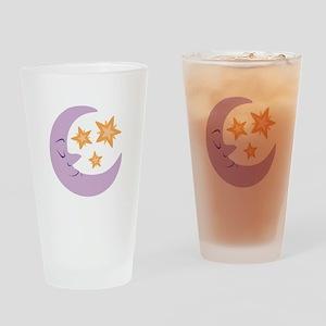 Night Moon Drinking Glass