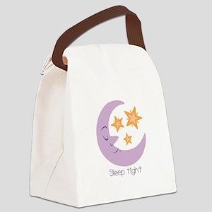 Sleep Tight Canvas Lunch Bag