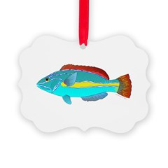 Belted Wrasse Ornament