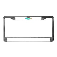 Belted Wrasse License Plate Frame
