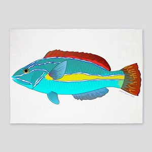Belted Wrasse 5'x7'Area Rug