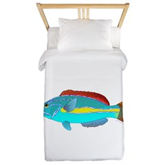 Belted Wrasse Twin Duvet