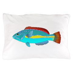 Belted Wrasse Pillow Case