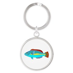 Belted Wrasse Keychains