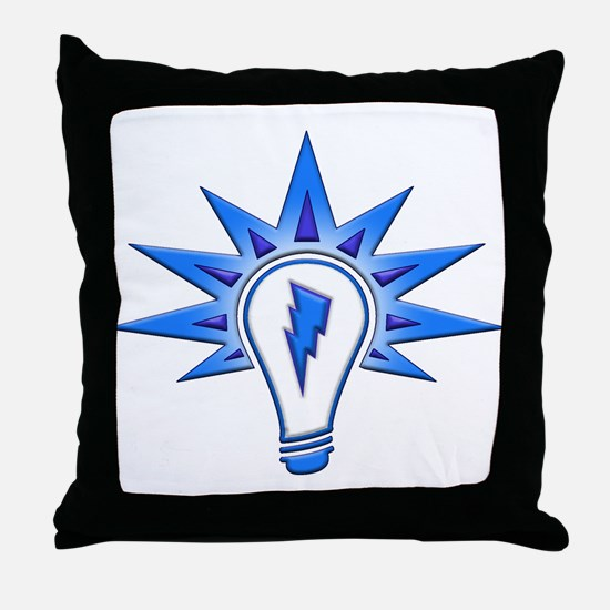 The Light The Power Throw Pillow