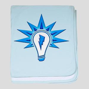 The Light The Power baby blanket