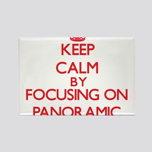 Keep Calm by focusing on Panoramic Magnets