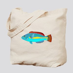 Belted Wrasse c Tote Bag