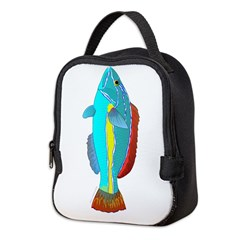 Belted Wrasse c Neoprene Lunch Bag