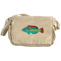 Belted Wrasse c Messenger Bag