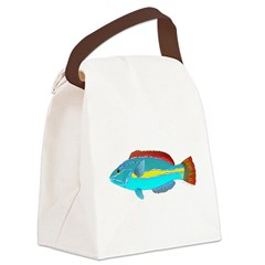 Belted Wrasse c Canvas Lunch Bag