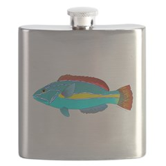 Belted Wrasse c Flask