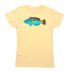 Belted Wrasse c Girl's Tee