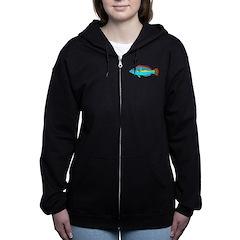 Belted Wrasse c Women's Zip Hoodie