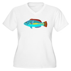 Belted Wrasse c Plus Size T-Shirt
