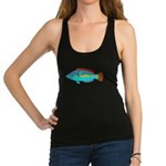 Belted Wrasse c Racerback Tank Top