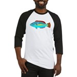 Belted Wrasse c Baseball Jersey