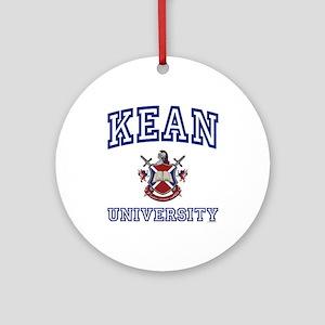 KEAN University Ornament (Round)