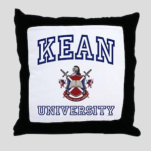 KEAN University Throw Pillow