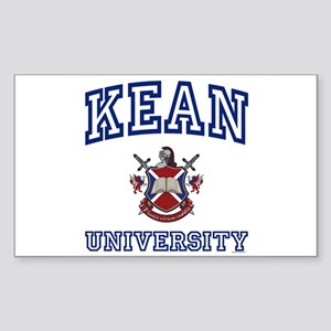 KEAN University Rectangle Sticker