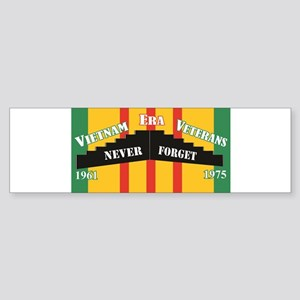Vietnam Era Veteran Memorial Bumper Sticker