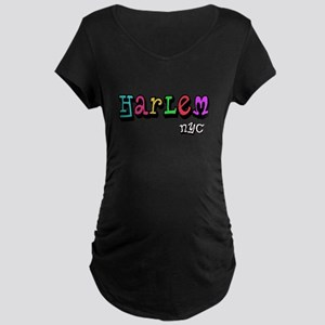 """""""CLICK HERE for HARLEM COLORS Maternity Dark T-Shi"""