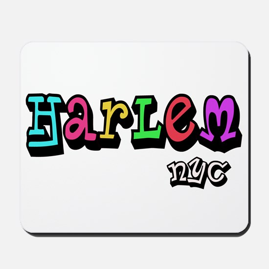 """CLICK HERE for HARLEM COLORS Mousepad"