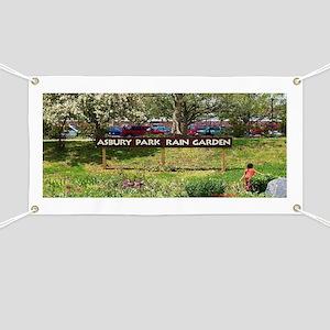 Asbury Park Rain Garden Banner