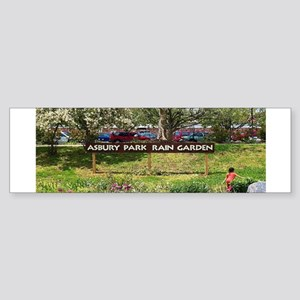 Asbury Park Rain Garden Bumper Sticker