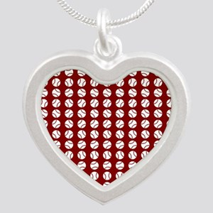 Sports: Baseball Ball Pattern Necklaces