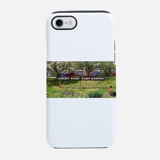 Asbury Park Rain Garden iPhone 7 Tough Case