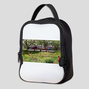 Asbury Park Rain Garden Neoprene Lunch Bag