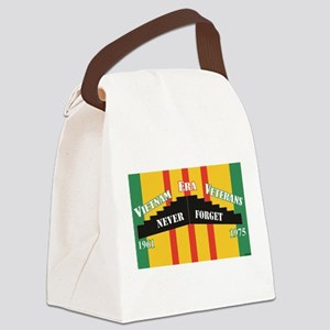 Vietnam Era Veteran Memorial Canvas Lunch Bag