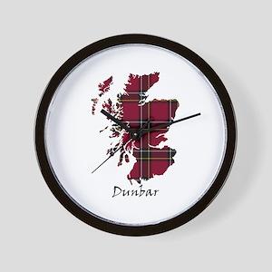 Map - Dunbar dist. Wall Clock