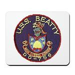USS BEATTY Mousepad