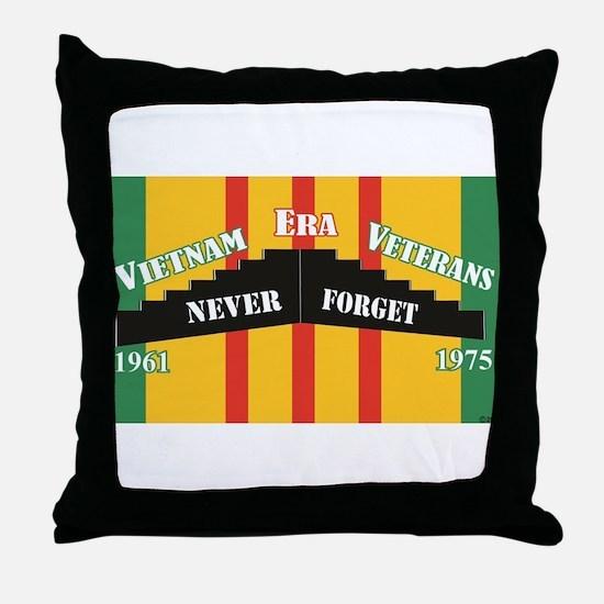 Vietnam Era Veteran Memorial Throw Pillow