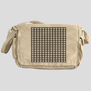 Sports: Baseball Ball Pattern Messenger Bag