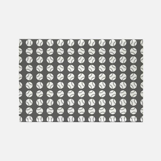 Sports: Baseball Ball Pattern Magnets