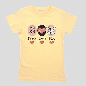 Peace Love Moo Cow T-Shirt