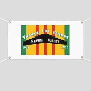 Vietnam Era Veteran Memorial Banner