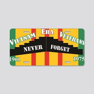 Vietnam Era Veteran Memoria Aluminum License Plate